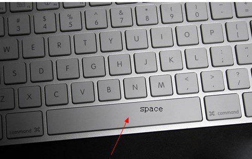 键盘上space键在哪