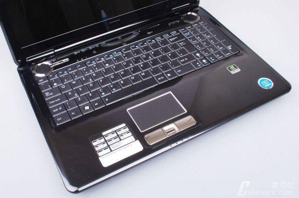 华硕笔记本键盘字母变数字